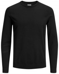 Jack & Jones Crew neck Knitted Sweater Black