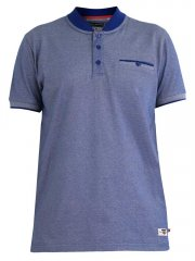 D555 Owen Colorless Polo Blue