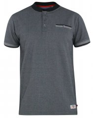 D555 Owen Colorless Polo Charcoal