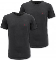 Kangol Jetta T-shirt Black 2-pack
