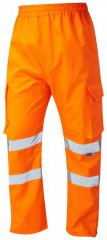 Leo Appledore Cargo Rain pants Hi-Vis Orange