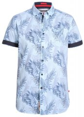 D555 Santana Hawaii Shirt Sky Blue