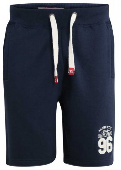 D555 Lindon Jersey Shorts Navy - Joggingbukser og shorts - Sweatpants og Sweatshorts 2XL-8XL
