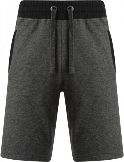 Kam Jeans 315 Jogger Shorts Charcoal - Joggingbukser og shorts - Sweatpants og Sweatshorts 2XL-8XL