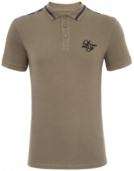 Loyalty & Faith Element Polo Khaki - Polotrøjer - Polotrøjer 2XL-8XL