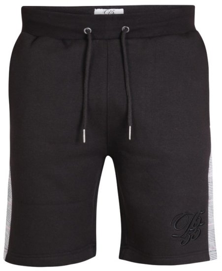 D555 Hayes Sweat-shorts Black - Joggingbukser og shorts - Sweatpants og Sweatshorts 2XL-8XL