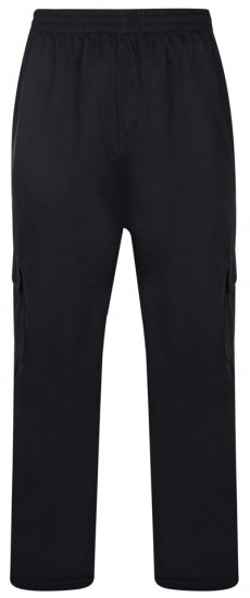 "Kam Jeans Cargojoggingbukser ""Lightweight"" Sort - Joggingbukser og shorts - Sweatpants og Sweatshorts 2XL-8XL"
