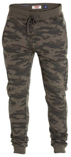 D555 Sutton Sweatpants Camo - Joggingbukser og shorts - Sweatpants og Sweatshorts 2XL-8XL