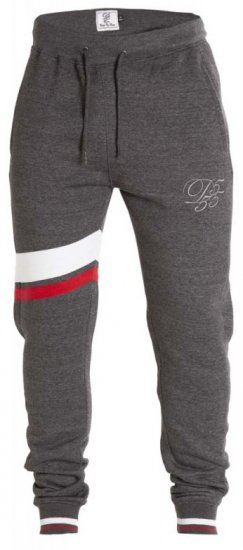 D555 Willis Sweatpants Charcoal - Joggingbukser og shorts - Sweatpants og Sweatshorts 2XL-8XL